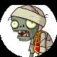 Zombie movie fan