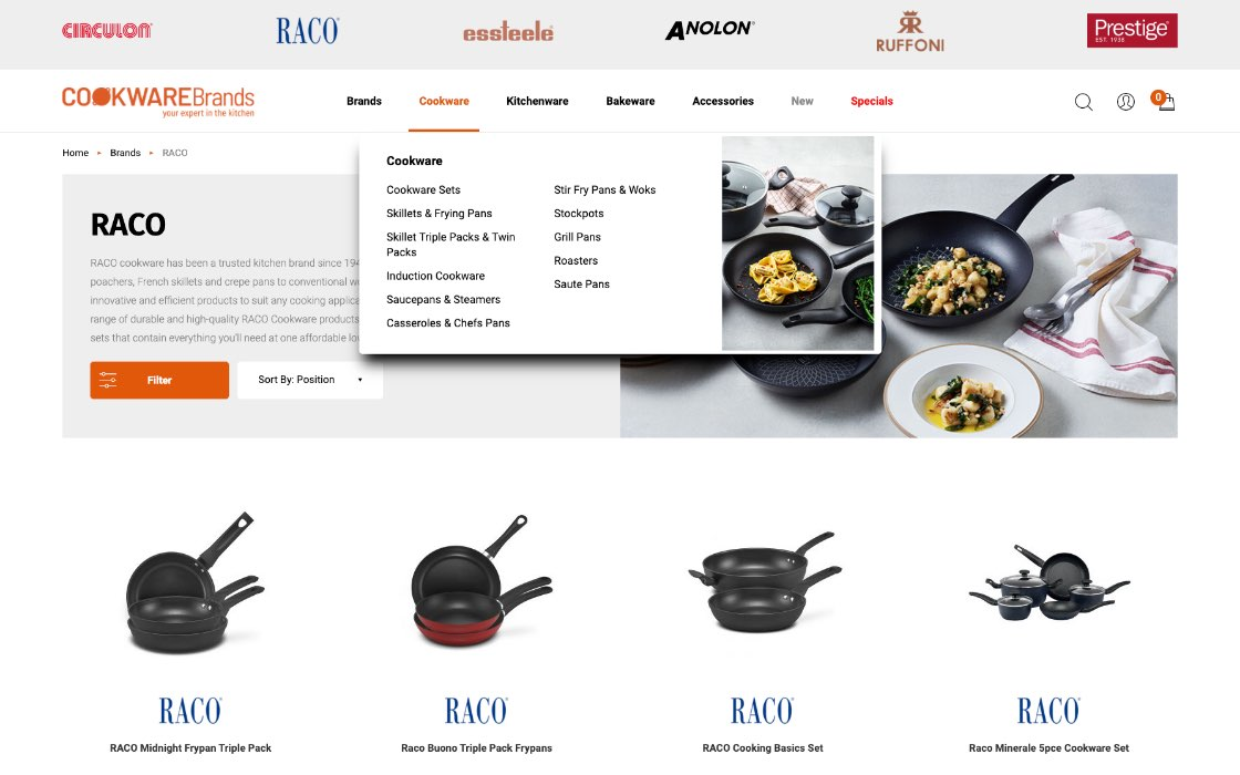 Cookware Brands Gallery